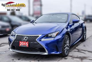 Used 2015 Lexus RC 350 NAVI|SUNROOF|REVRESE CAMERA| LOADED| CERTIFIED for sale in Bolton, ON