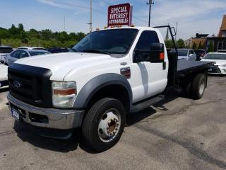 Used 2008 Ford F-550 Chassis XL 11 foot deck !!! certified and serviced !!! ready to work !!! for sale in Cambridge, ON