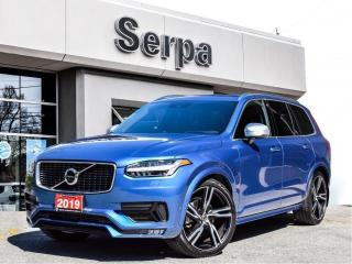 Used 2019 Volvo XC90 T6 R-Design |NAV|PANOROOF|RDESIGN|360CAM|ONEOWNER| for sale in Toronto, ON