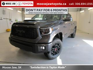New 2020 Toyota Tundra TRD Pro for sale in Moose Jaw, SK