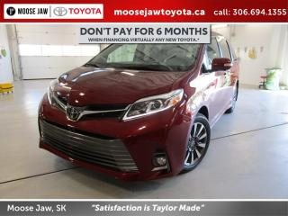 New 2020 Toyota Sienna XLE 7-Passenger XLE AWD 7 with Limited Package for sale in Moose Jaw, SK