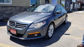Used 2010 Volkswagen Passat CC Sportline-SUNROOF-LEATHER-HEATED SEATS-LOCAL TRADE for sale in Tilbury, ON