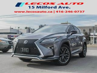 Used 2017 Lexus RX 350 F SPORT 2 for sale in North York, ON