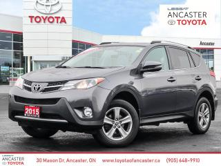 Used 2015 Toyota RAV4 XLE - SUNROOF|BACKUP CAMERA|HEATED SEATS for sale in Ancaster, ON