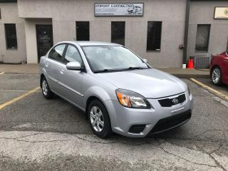 Used 2010 Kia Rio 4dr Sdn Auto EX,BLUETOOTH!HEATED SEATS, CERTIFIED! for sale in Burlington, ON