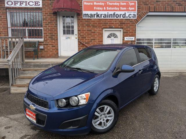 2014 Chevrolet Sonic LT Hatchback Automatic