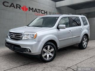 Used 2013 Honda Pilot TOURING / NO ACCIDENTS / DVD for sale in Cambridge, ON