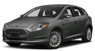 Used 2017 Ford Focus ELECTRIC for sale in Waterloo, ON