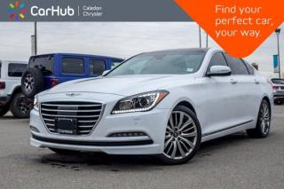 Used 2017 Genesis G80 Ultimate AWD Navigation Panoramic Sunroof Backup Camera Blind Spot Leather 19