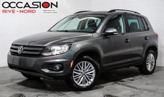 Used 2016 Volkswagen Tiguan SE 4MOTION CAM.RECUL+SIEGES.CHAUFFANTS+MAGS for sale in Boisbriand, QC