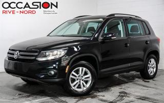 Used 2016 Volkswagen Tiguan Trendline MAGS+CAM.RECUL+SIEGES.CHAUFFANTS for sale in Boisbriand, QC