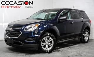 Used 2016 Chevrolet Equinox LS CAM.RECUL+MAGS+BLUETOOTH for sale in Boisbriand, QC