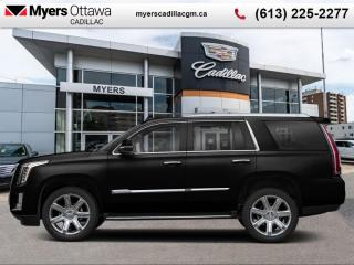 Used 2020 Cadillac Escalade Premium Luxury  - Sunroof for sale in Ottawa, ON