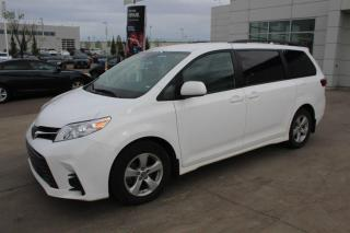 Used 2019 Toyota Sienna LE/8 PASS/TOYOTASAFTEYSENSE/BACKUPCAM/APPLECARPLAY for sale in Edmonton, AB