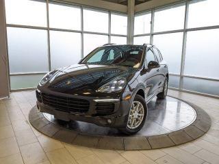 Used 2017 Porsche Cayenne   CPO   Ext. Warranty   Premium Plus   1 Owner for sale in Edmonton, AB