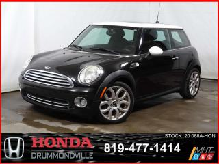 Used 2010 MINI Cooper Classic +SIEGE CHAUFF+BLUETOOTH+A/C for sale in Drummondville, QC