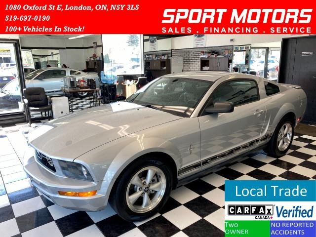 2008 Ford Mustang V6+Leather+Heated Seats+Automatic+Accident Free
