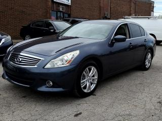 Used 2011 Infiniti G37 Sedan G37X for sale in Kitchener, ON