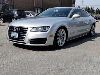 Used 2012 Audi A7 4dr HB quattro 3.0 Premium for sale in Kitchener, ON