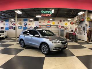 Used 2016 Acura MDX SH-AWD TECH PKG 7 PASS NAVI LEATHER SUNROOF CAMERA for sale in North York, ON