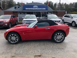 Used 2006 Pontiac Solstice CONVERTIBLE for sale in Flesherton, ON