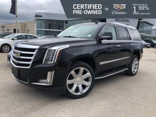 Used 2018 Cadillac Escalade Luxury 4x4 | Navigation | Bose Audio | Cooled Seats for sale in Winnipeg, MB
