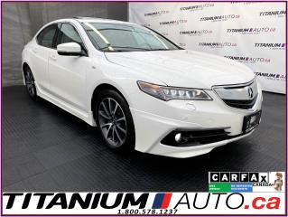 Used 2016 Acura TLX Elite A-Spec+SH-AWD+V6+Cooled Leather+Radar Cruise for sale in London, ON