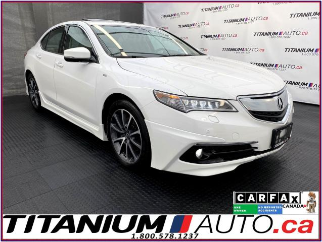 2016 Acura TLX Elite A-Spec+SH-AWD+V6+Cooled Leather+Radar Cruise