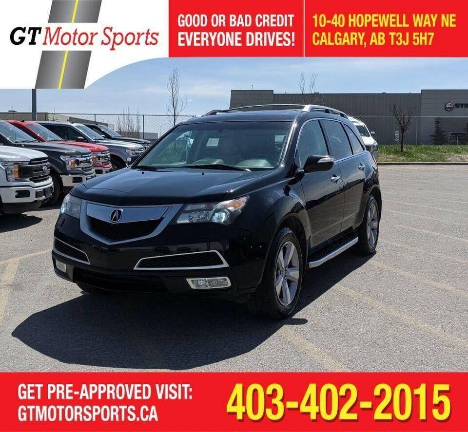 Used 2013 Acura MDX Tech Pkg For Sale In Calgary, Alberta
