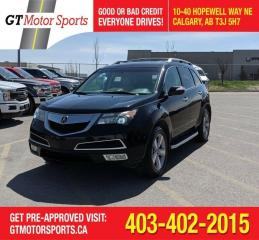 Used 2013 Acura MDX Tech pkg for sale in Calgary, AB