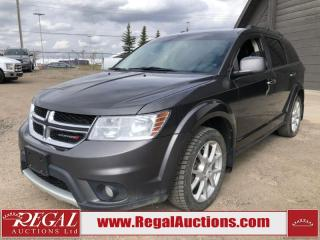 Used 2017 Dodge Journey GT 4D Utility AWD 3.6L for sale in Calgary, AB