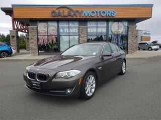 Used 2012 BMW 5 Series 528I XDRIVE - Navigation, Heated Leather Seats, Low KM's!! for sale in Courtenay, BC