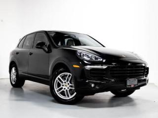 Used 2016 Porsche Cayenne I PREMIUM PKG I PANO I NAVI I 19 INCH WHEELS for sale in Vaughan, ON