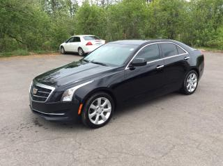 Used 2015 Cadillac ATS 2.0L  AWD - LEATHER - SUNROOF! for sale in Ottawa, ON