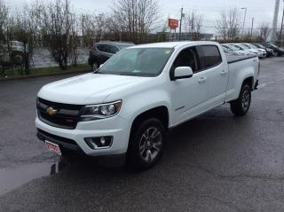 Used 2016 Chevrolet Colorado Crew Cab Z71 4X4 - TONNEAU COVER - HTD SEATS! for sale in Ottawa, ON