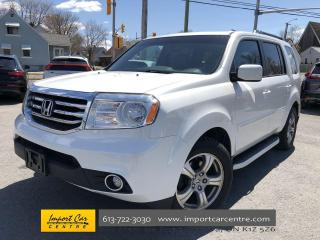 Used 2013 Honda Pilot EX-L 8 PASS  LEATHER  ROOF  CAMERA for sale in Ottawa, ON