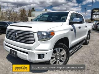 Used 2016 Toyota Tundra Platinum 5.7L V8 SMETANA APPROVED!!  LEATHER  ROOF for sale in Ottawa, ON