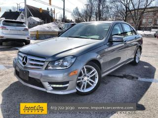 Used 2013 Mercedes-Benz C-Class ROOF  HEATED SEATS  SPORTS PKG  AMG STYLING PKG for sale in Ottawa, ON