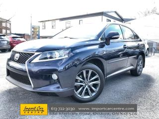 Used 2014 Lexus RX 350 F Sport JIRI APPROVED!! LEATHER  ROOF  NAV  BACKUP for sale in Ottawa, ON