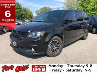 Used 2018 Dodge Grand Caravan GT | Htd Leather | Pwr Hatch | B/Up Cam | UConnect for sale in St Catharines, ON