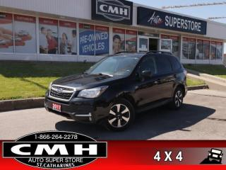 Used 2017 Subaru Forester 2.5i Touring w/Technology Package  AWD for sale in St. Catharines, ON