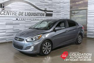 Used 2017 Hyundai Accent SE+MAGS+A/C+TOIT+BLUETOOTH for sale in Laval, QC