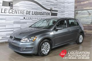 Used 2016 Volkswagen Golf TSI+MAGS+A/C+BLURTOOTH for sale in Laval, QC