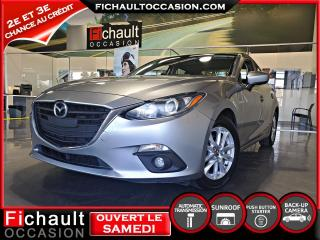 Used 2015 Mazda MAZDA3 Berline *** TOIT OUVRANT**** for sale in Châteauguay, QC
