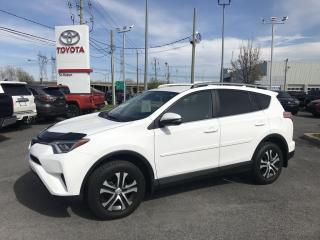 Used 2017 Toyota RAV4 FWD 4dr LE for sale in St-Hubert, QC