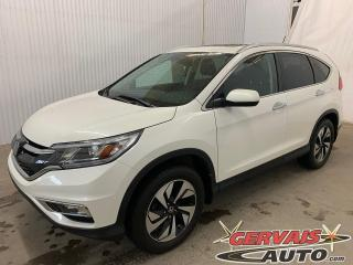 Used 2016 Honda CR-V Touring AWD GPS Cuir Toit Ouvrant Mags Caméra *Traction intégrale* for sale in Trois-Rivières, QC