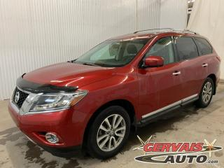 Used 2016 Nissan Pathfinder SL 4WD GPS Cuir Toit Panoramique Caméra 360 Mags * 7 Passagers * for sale in Trois-Rivières, QC
