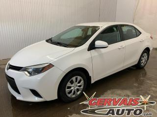 Used 2014 Toyota Corolla CE A/C Bluetooth Automatique for sale in Shawinigan, QC