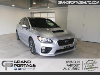 Used 2015 Subaru WRX AWD Groupe Sport-tech berline 4 portes B for sale in Rivière-Du-Loup, QC