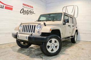 Used 2016 Jeep Wrangler Sahara for sale in Blainville, QC